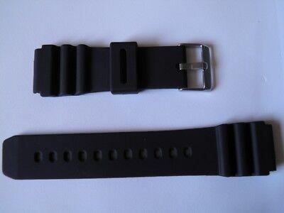 Bracelet montre en silicone disponible de 18 à 22mm