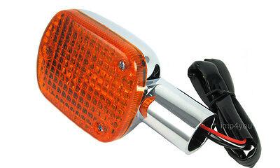 Front pair Turn Signal Indicator with stem for Honda V65 Magna VF1100C 83-86