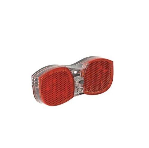 Büchel Gepäckträger Rücklicht Avenue BATTERIE 80 mm 3 LED Reflektor