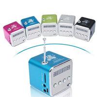 Portable Mini Speaker Stereo Micro SD TF USB Radio Bass Speaker FM MP3 PC Player