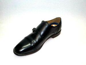 Florsheim-MARINO-DOUBLE-MONK-Black-Mens-Size-8-5D-Oxfords-Shoes