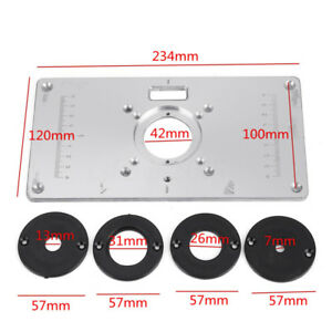 700c aluminum router table insert plate 4 rings screws for 700c aluminum router table insert plate 4 rings keyboard keysfo Image collections
