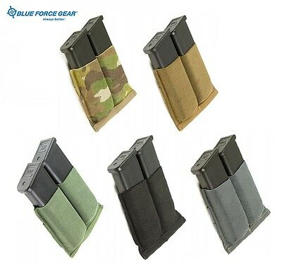 Blue Force Gear Ten Speed Double Pistol Mag Pouch-Coyote-Black