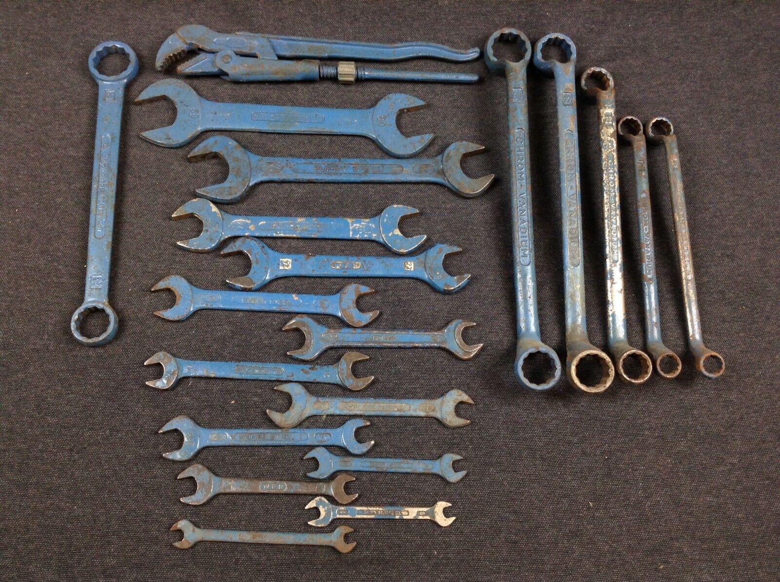 Alte Maulschlüssel Ringschlüssel Smalcalda DDR Bordwerkzeug Auto Werkzeug