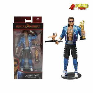 Mcfarlane-Toys-Mortal-Kombat-Welle-2-Johnny-Kaefig-17-8cm-Actionfigur-NM-Kiste
