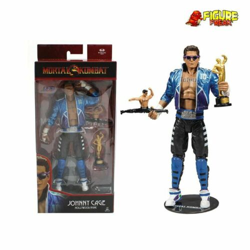 McFarlane Toys mortal kombat Wave 2 Johnny Cage 7 in Near Comme neuf box! environ 17.78 cm Action Figure
