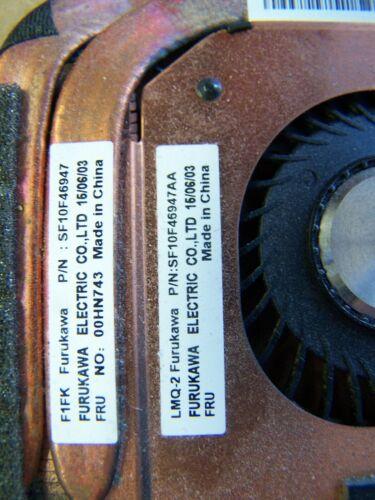 00HN743 FOR LENOVO IBM Thinkpad Laptop Cpu Cooling Fan with Heatsink  GRADE A