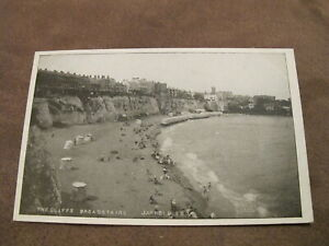 Early-Kent-postcard-Scene-from-the-cliffs-Broadstairs