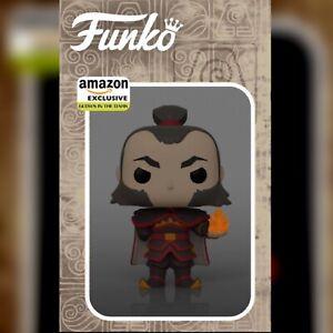 Funko Pop! Animation Avatar Admiral Zhao Glow in The Dark Fireball PREORDER July