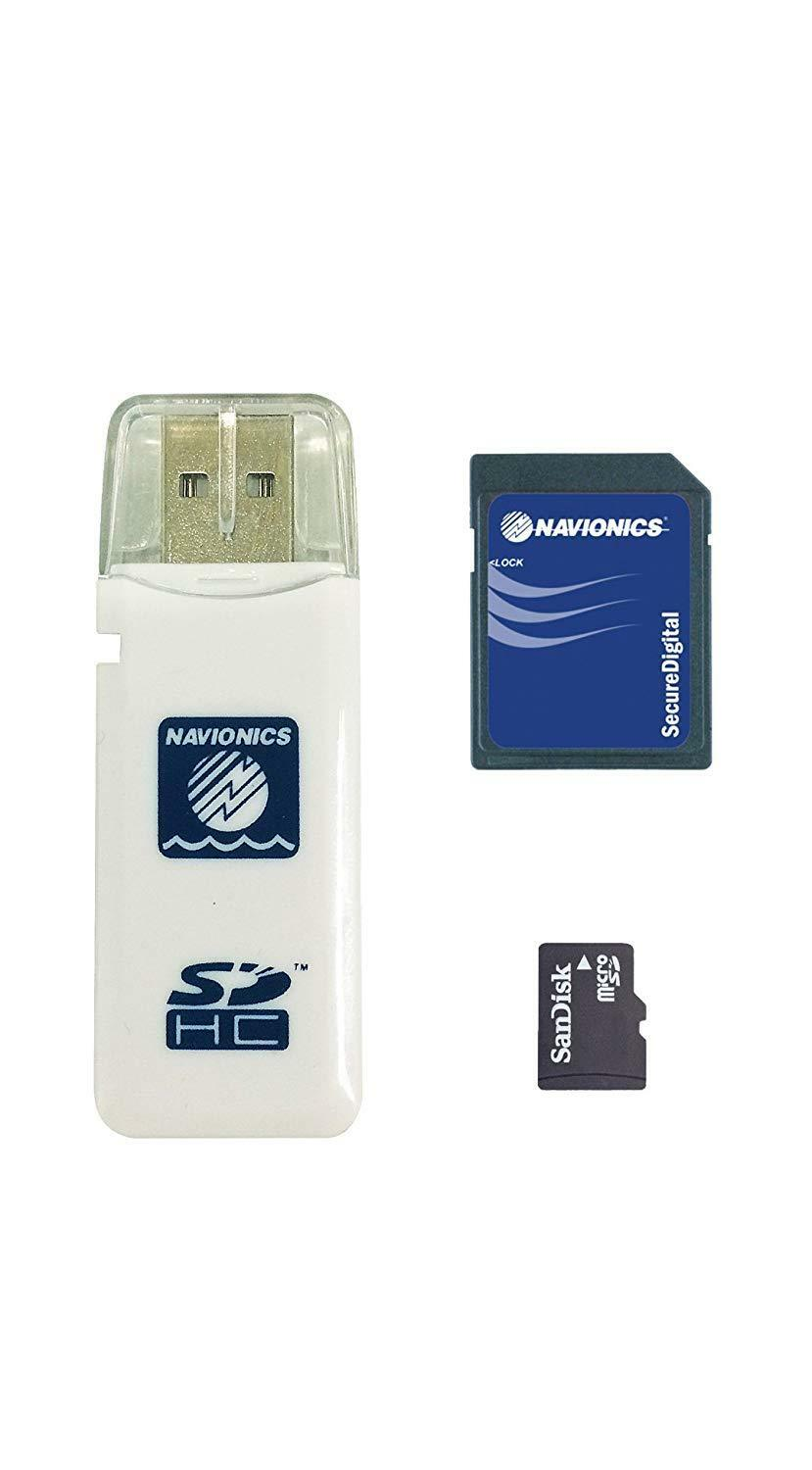 Navionics Norwegen Plus 49XG Global Region Norwegen Navionics Format MicroSD mit SD-Adapter dec25c