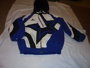 DALLAS Cowboys Authentic PRO LINE APEX ONE NFL COAT Jacket KIDS ... 751a2cdc1