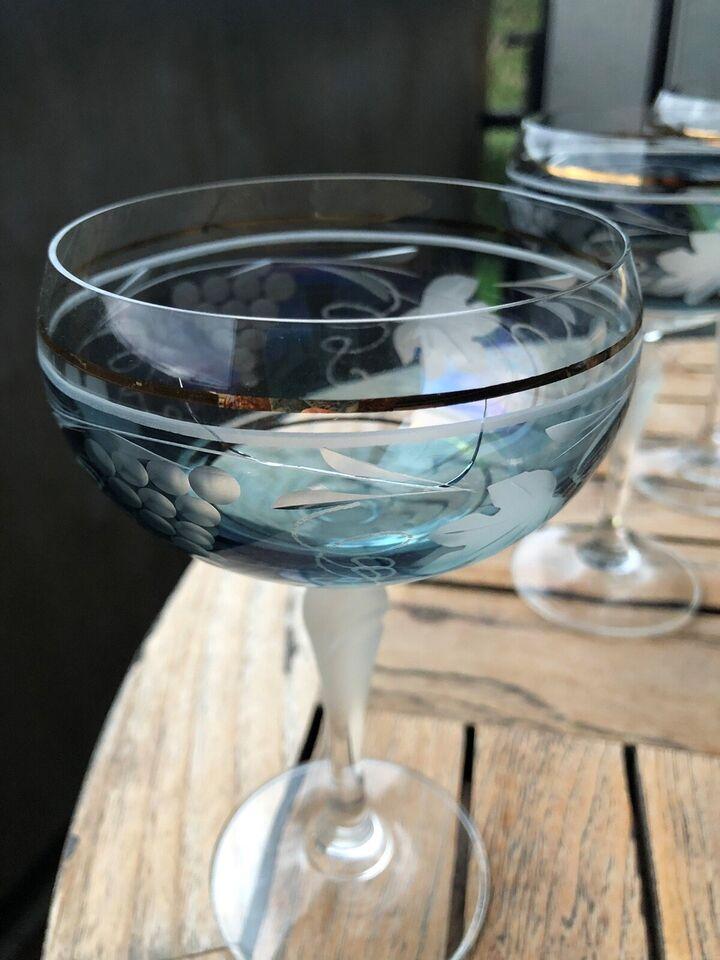 Glas, Champagneskåle, Ukendt