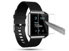 Scratch Resistant Glass.Tempered Glass Screen Protector For Fitbit Blaze Smart Watch Akwox 4 Pc