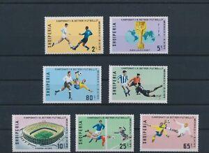 LO08746 Albania football cup soccer fine lot MNH