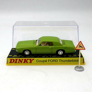 Atlas-1-43-Dinky-Toys-ref-1419-coupe-Ford-Thunderbird-DIECAST-models-Green