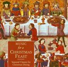 Music for a Christmas Feast: Seasonal Classics for Christmas Dining (CD, Aug-2003, The Gift of Music)