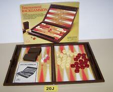 1977 ES Lowe Milton Bradley Tournament Backgammon Strategy Game Of Kings For 2