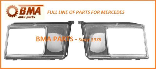 NEW - Mercedes Headlight Doors W124 260E,300CE,300D,300E,300TD,300TE,400E 86-93