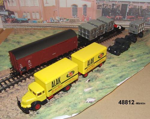marklin 48812 trasporto merci FERMAGLI BergWerke  neu OVP