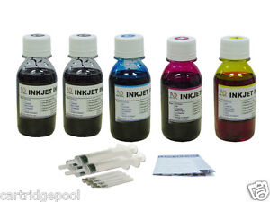 Refill-Ink-for-Brother-LC75-MFC-J6910DW-MFC-J6710DW-MFC-J6510DW-MFC-J430W-5x4ozs