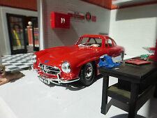 G LGB 1:24 Scale 1954 Mercedes 300SL Very Detailed Burago Diecast car 22023 red