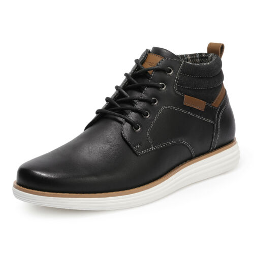 Men/'s Mid Top Chukka Boots Lace Up Sneaker Dress Water-Resistant Boots US Size