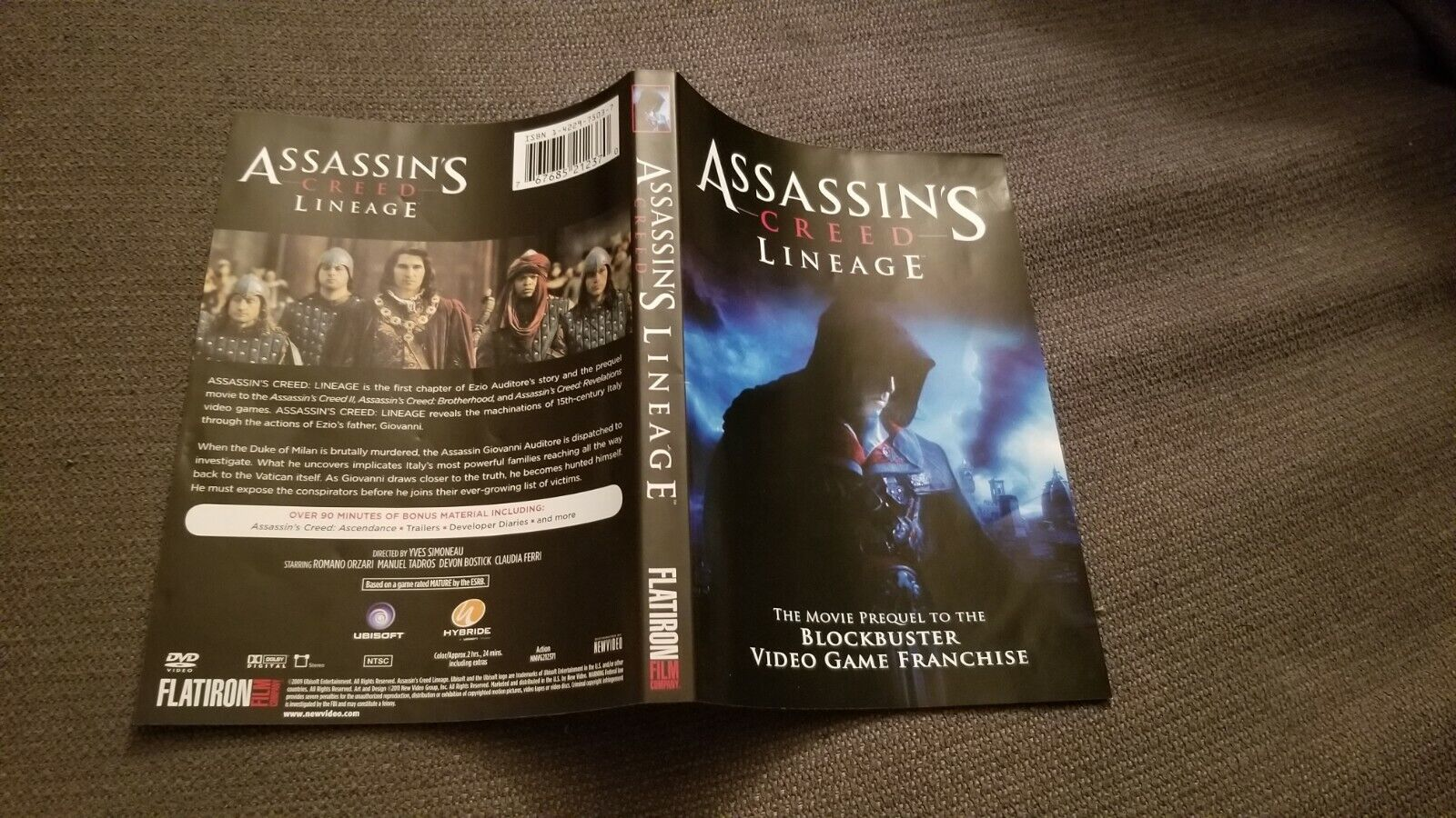 Assassins Creed Lineage Dvd 2011 For Sale Online Ebay