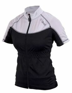 Womens-Netti-Diva-Flash-Jersey-Short-Sleeve-Cycling-Jersey-White-Black-Size-10
