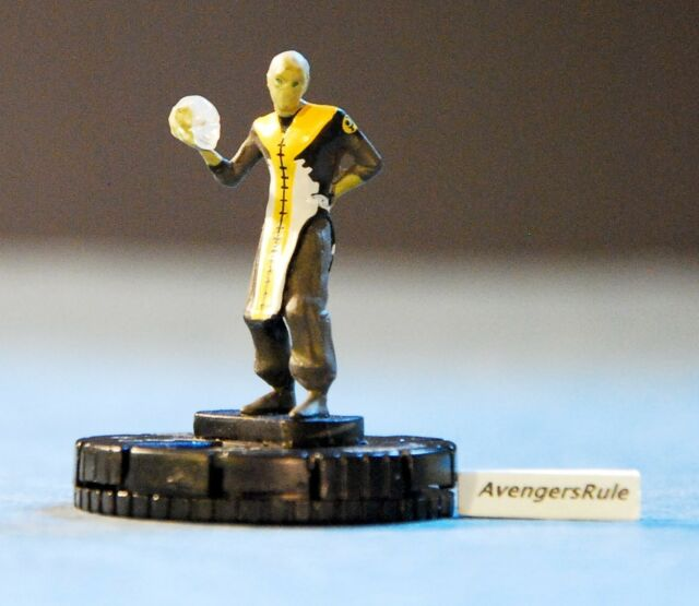 Marvel HeroClix Guardians of the Galaxy Ebony Maw #025