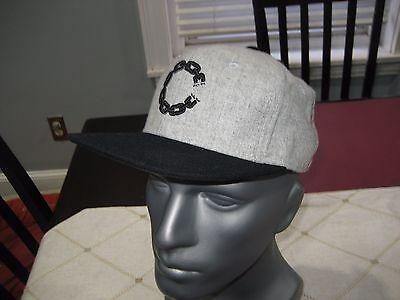 MENS Crooks /& Castles SMU Chain CASTLE SNAPBACK Hat GRAY//Black NWT $40