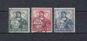 germany hanover trade fair  1949 used stamps ref r14154