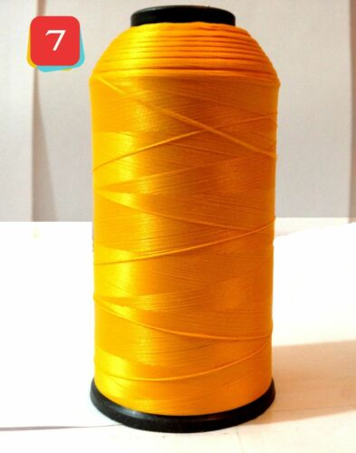 NEW SEWING MACHINE THREAD OVER LOCKING POLYESTER WITH 10 DIFFERENT COLOURS