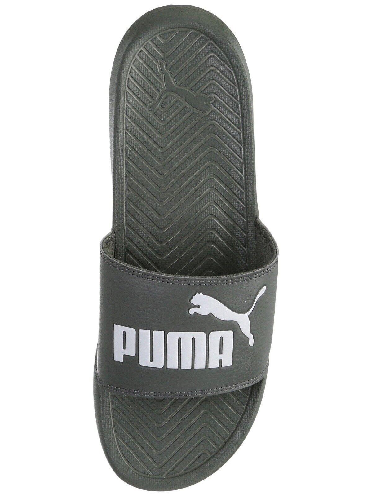 ac9c0456f4c3 PUMA Men s Slip On Sport Slide Sandals flip flops flops flops Slippers Shoes  Popcat Gray bf5292