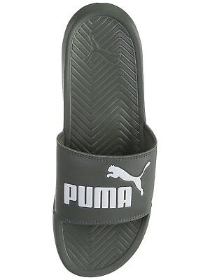 PUMA Men/'s Slip On Sport Slide Sandals flip flops Slippers Shoes Popcat Black