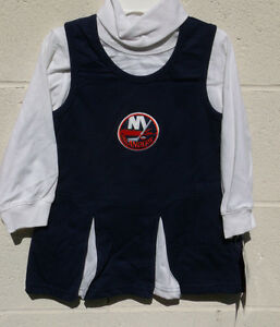 New York Islanders Cheerleader Toddler Outfit Skirt Shirt 2T 3T 4T NWT Jersey