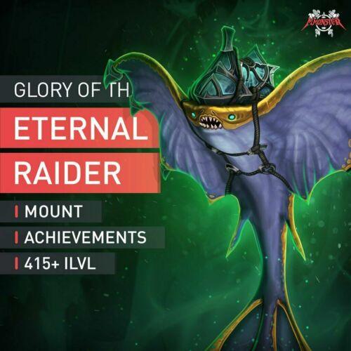 Glory of the Eternal Raider Azshari Bloatray Boost Raid Run Shared WoW EU