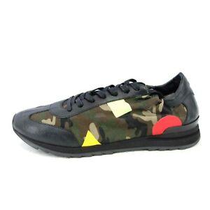 Philippe-MODEL-Lusso-Scarpe-Uomo-Sneaker-Scarpe-Sportive-MIMETICO-NP-279-NUOVO