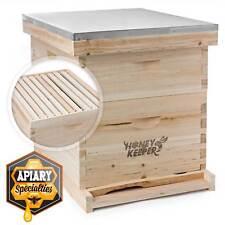 Beehive 20 Frame Complete Box Kit 10 Deep 10 Medium Langstroth Beekeeping