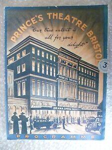 1936-Prince-039-s-Theatre-Programme-ROSE-MARIE-Tessa-Deane