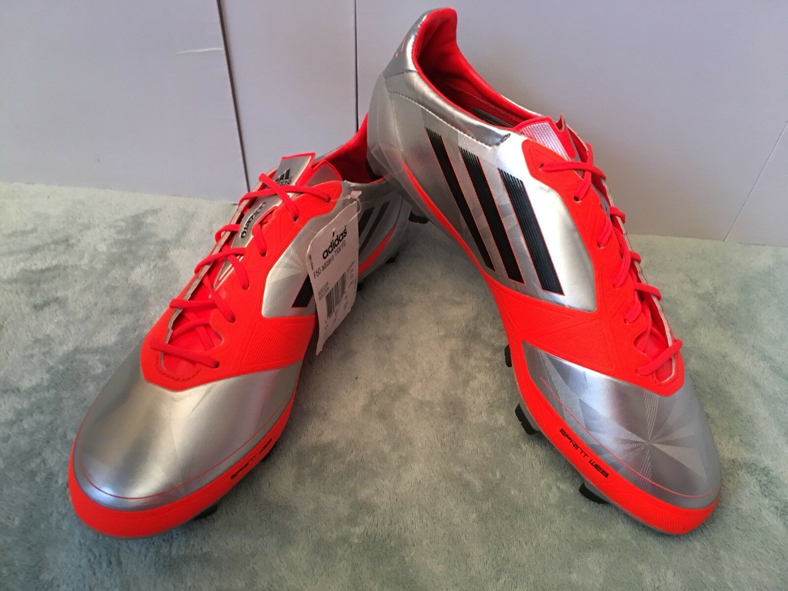 Adidas F50 adiZero Fg Synthetic Mens Soccer Cleats Size 10