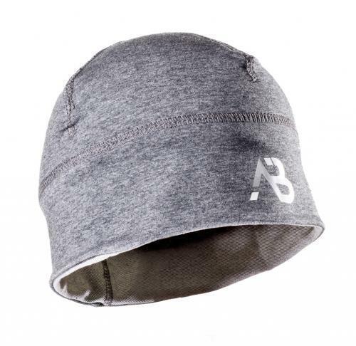 A partir de deporte gorro con logo negro gris de ejecución gorra joggingmütze