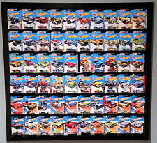 ProView Diplays Hot Wheels Cars Rail Wall Mount System Display Case 60 Count