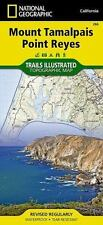National Geographic Trails Illustrated Map: Mount Tamalpais, Point Reyes, California, USA 266 by National Geographic Maps Staff (2011, Map, Other)