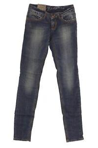 Tom Tailor Vaqueros Extra Skinny Bajo Waist Mujer Pantalones Entubados Stretch Ebay