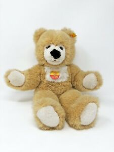 Steiff-Teddy-Baer-MOLLY-mit-Stimme-ca-38-cm-Nr-021053-neuwertig-unbespielt