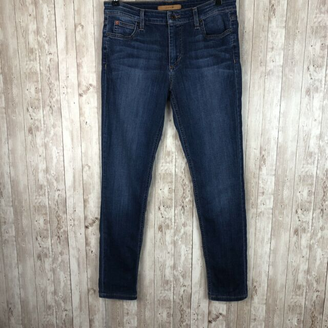 Joes Jeans Womens Eco Friendly Icon Midrise Skinny Crop Jean in Ruthie