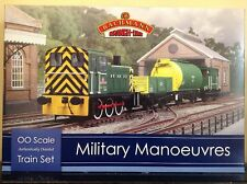 Bachmann 30-130. Military Manoeuvres Train Set.  00 Scale.