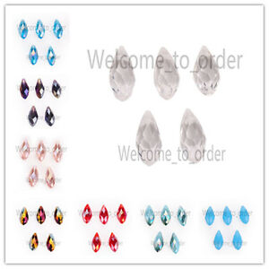 20-pcs-Charms-Faceted-Glass-Teardrop-Pendant-Earring-Finding-Loose-Spacer-Beads
