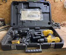 Dewalt 18v 12var Cordless Drill 2 Chargers Amp Battery Adapter No Batteries