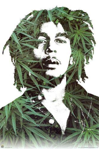 "Bob Marley Art Wall Silk Poster 36x24/"" B01"